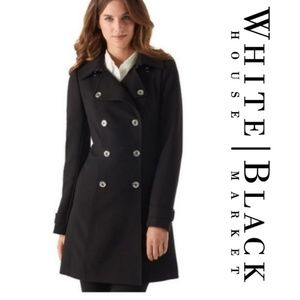 WHBM Double Breasted Coat